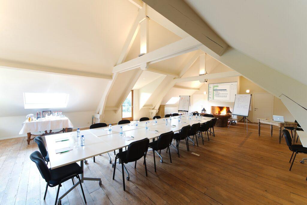 Salle de réunion originale à Bruxelles